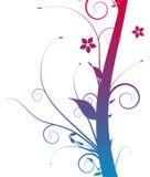 sakura drzewa winogrady royalty ilustracja