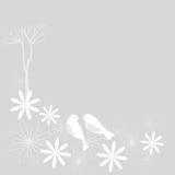 Sakura ed uccelli (fiore di ciliegia) illustrazione vettoriale