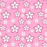 Sakura för vektorvårblomma sömlös modell Arkivfoton