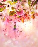 Sakura Fairy Royalty Free Stock Images