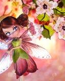 Sakura Fairy Stock Photo