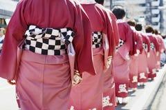 Sakura festival ,Japan. Royalty Free Stock Photography