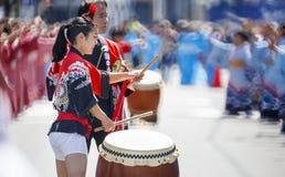 Sakura festiwal, Japonia Fotografia Royalty Free