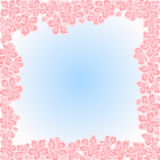 Sakura flowers spring  place for text background vector Stock Photos