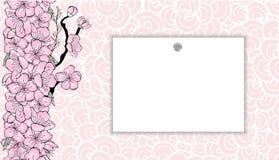 Sakura gradient royalty ilustracja