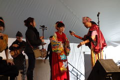 2014 Sakura Matsuri Festival 13 Stock Foto's