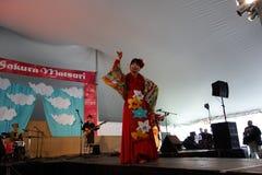 2014 Sakura Matsuri Festival 14 Royalty-vrije Stock Afbeelding