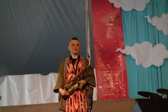 2014 Sakura Matsuri Festival 16 Stock Foto