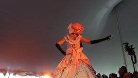 The 2014 Sakura Matsuri Festival Cosplay Fashion Show 4 Royalty Free Stock Photos