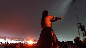 The 2014 Sakura Matsuri Festival Cosplay Fashion Show 15 Royalty Free Stock Photo