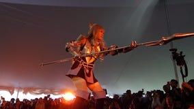 The 2014 Sakura Matsuri Festival Cosplay Fashion Show 25 Royalty Free Stock Photography