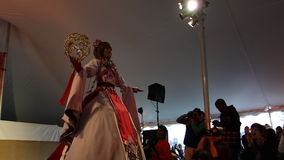 The 2014 Sakura Matsuri Festival Cosplay Fashion Show 26 Royalty Free Stock Photos