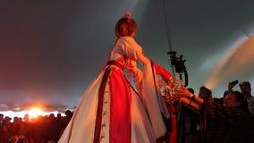The 2014 Sakura Matsuri Festival Cosplay Fashion Show 31 Stock Images
