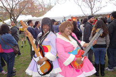 The 2014 Sakura Matsuri Festival Cosplay Fashion Show 43 Royalty Free Stock Photo