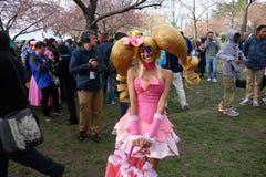 The 2014 Sakura Matsuri Festival Cosplay Fashion Show 49 Royalty Free Stock Image