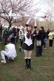 The 2014 Sakura Matsuri Festival Cosplay Fashion Show 50 Royalty Free Stock Photography