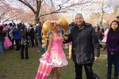 The 2014 Sakura Matsuri Festival Cosplay Fashion Show 54 Royalty Free Stock Images