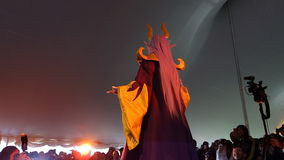 2014 Sakura Matsuri Festival Cosplay Fashion toont 6 Stock Fotografie