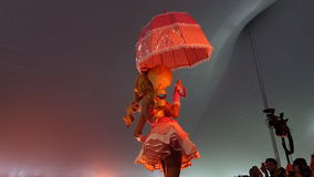2014 Sakura Matsuri Festival Cosplay Fashion toont 14 Stock Afbeeldingen