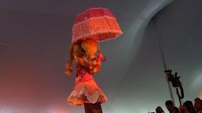 2014 Sakura Matsuri Festival Cosplay Fashion toont 23 Stock Foto's