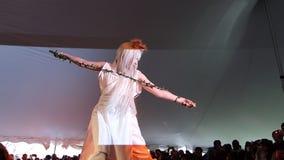 2014 Sakura Matsuri Festival Cosplay Fashion toont 28 Stock Afbeelding