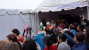 2014 Sakura Matsuri Festival Cosplay Fashion toont 32 Royalty-vrije Stock Afbeelding