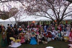 2014 Sakura Matsuri Festival Cosplay Fashion toont 37 Royalty-vrije Stock Foto's