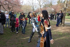 2014 Sakura Matsuri Festival Cosplay Fashion toont 44 Royalty-vrije Stock Afbeeldingen