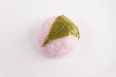 Sakura Mochi stock afbeeldingen