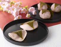 Sakura Mochi Stock Image