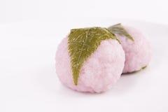 Sakura mochi Stock Images