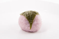 Sakura mochi Royalty Free Stock Photo