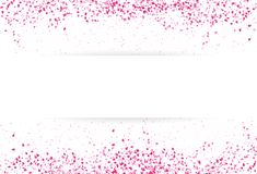 Sakura scatter pink leaves petal falling banner template concept vector illustration