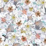 Sakura seamless pattern Royalty Free Stock Photos