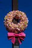 Sakura wreath Stock Image
