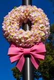 Sakura wreath Stock Photo