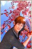 Sakura Yakuza Royalty Free Stock Image