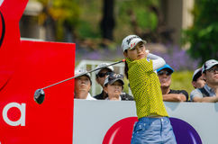 Sakura Yokomine de Japão em Honda LPGA Tailândia 2016 Imagens de Stock