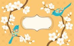 Sakura-Zweige Lizenzfreie Stockfotos