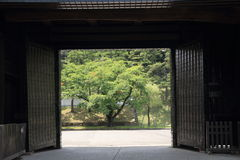 Sakurada gate of Edo castle Stock Image