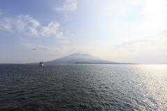 Sakurajima Στοκ εικόνα με δικαίωμα ελεύθερης χρήσης