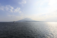 Sakurajima Royalty Free Stock Image