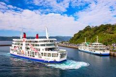 Sakurajima Ferry Boat Royalty Free Stock Photography