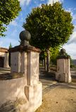 Sakya Tashi Ling monastery Royalty Free Stock Photo