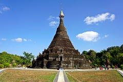 Sakyamanaung Paya, Mrauk U, estado de Rakhine, Myanamar imagens de stock