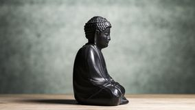 Sakyamuni Buddha sculpture Royalty Free Stock Photography