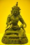 Sakyamuni. A golden Sakyamuni statue form china stock image
