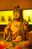 Sakyamuni. A golden Sakyamuni statue form china stock images