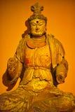 Sakyamuni. A golden Sakyamuni statue form china stock photos
