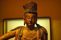 Sakyamuni. A golden Sakyamuni statue form china royalty free stock image